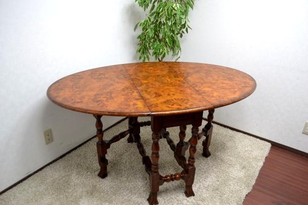 セオドアアレキサンダー ゲートレッグテーブル