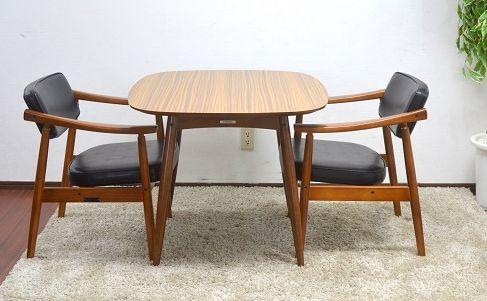 カリモク60 Dテーブル Dチェア ウォールナット